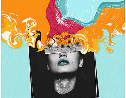 A Beautiful Mind (Book Cover Design)