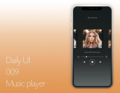 Dailyui009 - Music Player