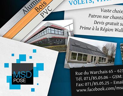 MSD Pose / Flyer