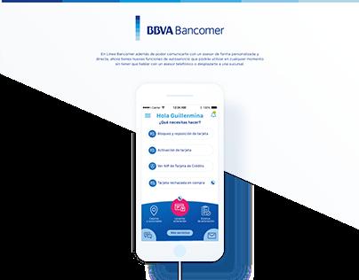 Línea BBVA Bancomer
