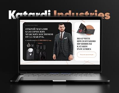 Franchise of men's suits Katardi Industries
