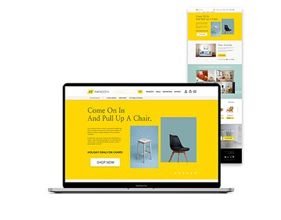 UI Design - Maynooth Furniture