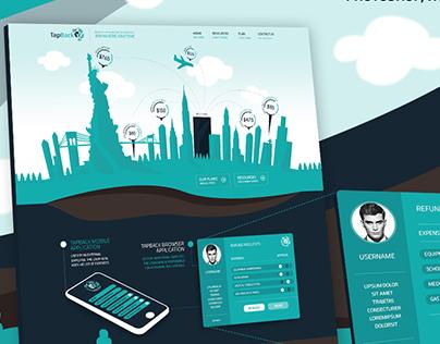 UX, UI, Responsive Design - TapBack
