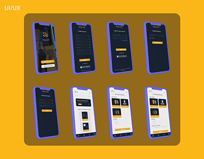 Redesign Delivery App UI/UX