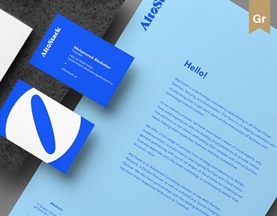 AltoStack – branding