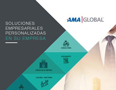 Folleto Cursos In Company AMA Global