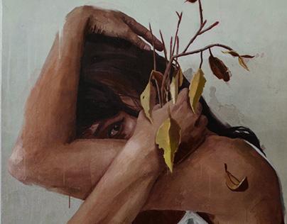 Ciclo.  Painting series.