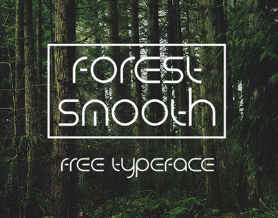 ForestSmooth — free typeface