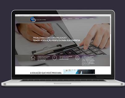 Web design   Site de Escritório de Contabilidade