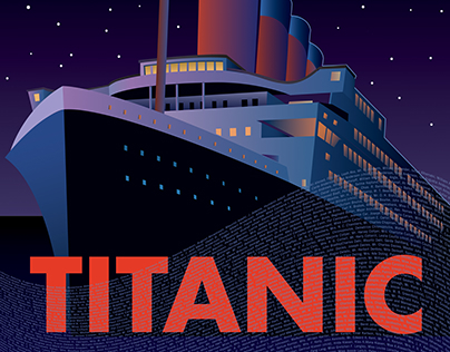 Titanic the Musical Painting, Set Dressing and Props