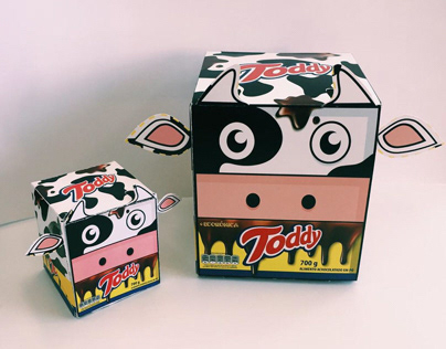 Redesign da embalagem de Toddy