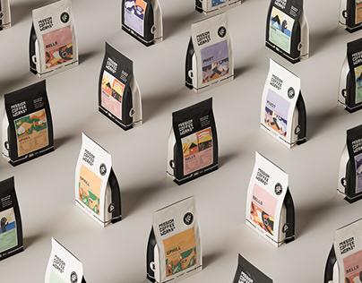 Mission Coffee Works | Craft Coffee Branding
