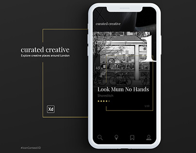 Adobe XD - Curated Creative #IconContestXD