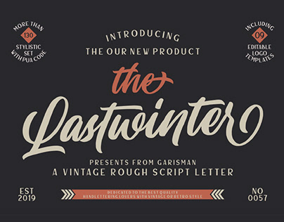 FREE | The Lastwinter Vintage Script Font
