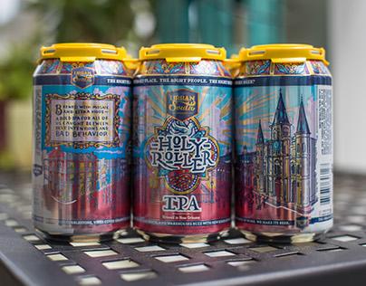 Holy Roller | Beer Can Design