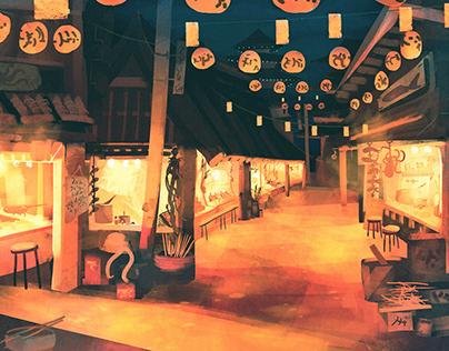Feudal Japan: Street Food