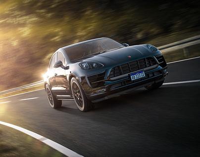 Porsche Macan - CGI