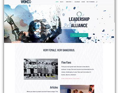 Branding and Web Design — Women's Leadership Community