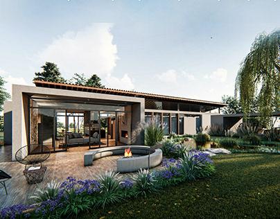 CASA ORTIZ - Architectural Design