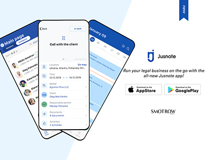 Jusnote App - Run Your Legal Business On The Go