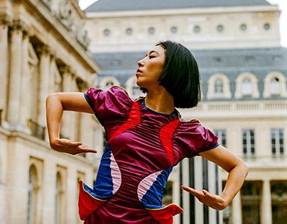 Lia Kim in Paris