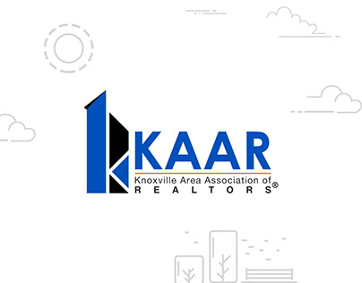 Prominent logo for KAAR (Realtors)