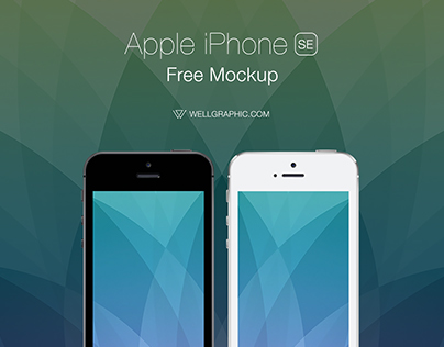 Apple iPhone SE Mockup PSD