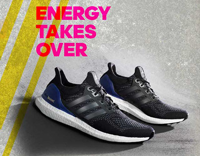 Adidas Ultraboost Mobile Campaign (Adidas)