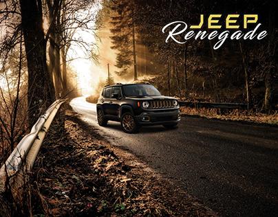 MONTAGE PHOTOSHOP   Jeep Renegade