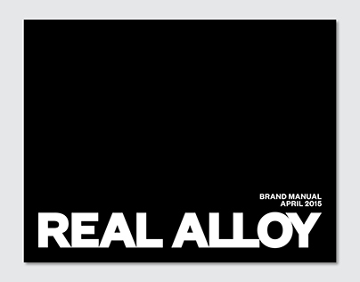 Real Alloy Brand Manual