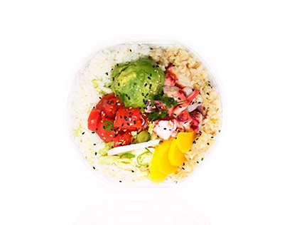 Poke Maoli Food Photography Color Correction