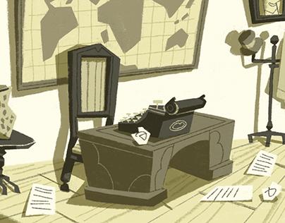 DAL SEGNO ALLA SCRITTURA | Concept Art for Animation