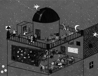 The Observatory @Zg // illustration
