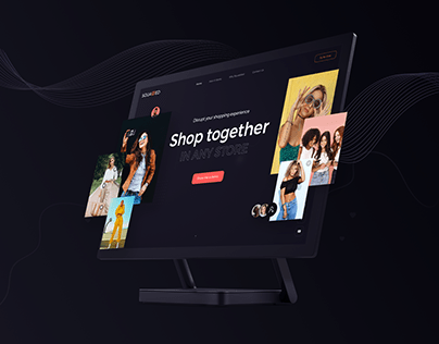 Squadded - Landing Page