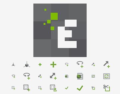 EDEM Solutions - DEM Software Icons