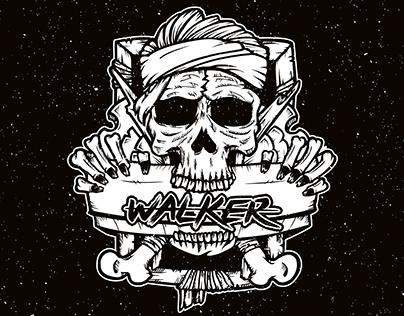 Logo for Walker Screen Printing