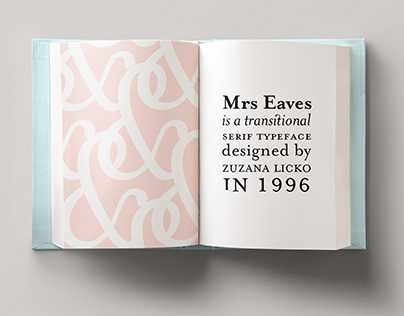 Typefaces 101 | Mrs Eaves