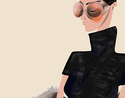 Fashion sketches 2015/16