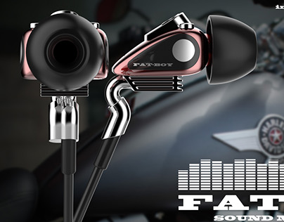 FatBoy- Sound machine (earphone design)