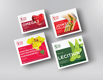 FORDAY Food Supplements Packaging