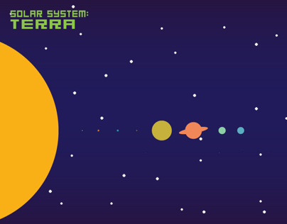 Solar System Video Infographic