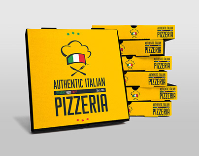 Free Pizza Box Mockup - PSD