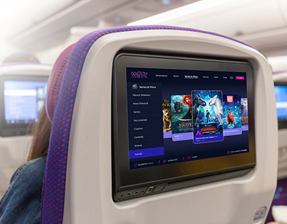 In flight entertainment System WIZZ Airlines