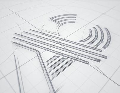 Logo Sketch Animation
