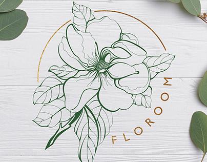 DEVELOPMENT OF A LOGO FOR A FLOWER SHOP.