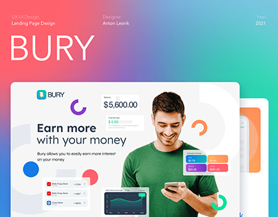 Landing Page for BURY