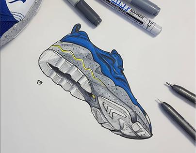 Footwear Illustration / MIZUNO