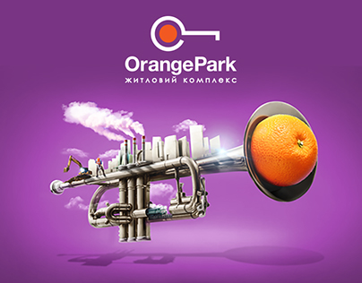 "Advertising campaign for ""Orange Park"""