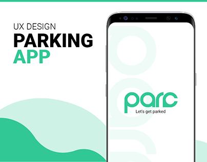 Parc - Ultimate parking solution (UX)