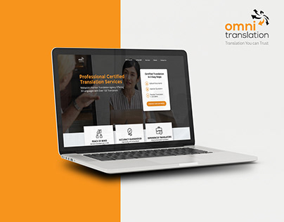 Omni Translation - UX Web Design